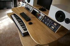 Recording Studio Desk 12RU workstation premium birch plywood with Keyboard Shelf