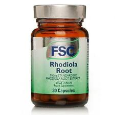 FSC Standardised Rhodiola Root Extract 500mg - 30 Capsules