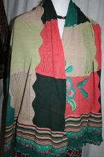 Écharpes et châles vert à motif Rayé pour femme
