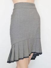 Viscose Knee-Length Women's High Waist Skirts