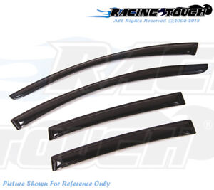 Out-Channel Window Visor Wind Guard 4pcs 2007-2011 07-11 Chevy Aveo 5DR HB