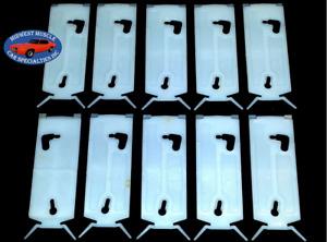 77-85 NOS Oldsmobile Delta 88 98 Lower Rocker Moulding Molding Trim Clip 10pc OO