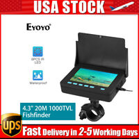 "Eyoyo 4.3"" 20M Fish Finder Used 6-8 Hours IP68 Underwater Fishing Video Camera"