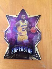 2019-20 Contenders LeBron James Superstar Die-Cuts Los Angeles Lakers #1 King