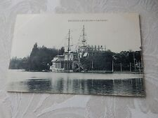 antique postcard  CASINO  GAMBLING FANTASTIC SHIP ENGHIEN LES BAINS