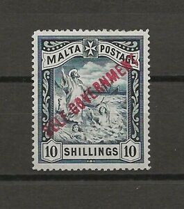 MALTA 1922 SG 121 MINT Cat £140
