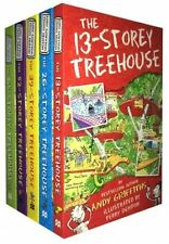 The 13-Storey Treehouse Collection Andy Griffiths and Terry Denton 5 Boo