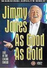 JIMMY JONES AS GOOD AS GOLD GENUINE R0 DVD LIVE AT THE CIRCUS TAVERN VGC
