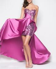 Womens Sequins Prom Dresses Party Long Dress Evening Gown Formal Cocktail T131