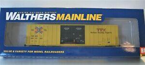 Walthers Ho Mainline 60' Gunderson  TBOX Hi Cube Boxcar# 910-2998 RED TTX NIB