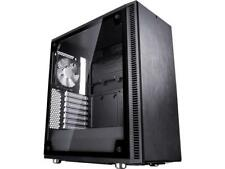 Fractal Design Define C TG Black Tempered Glass Window Silent Compact ATX Mid To