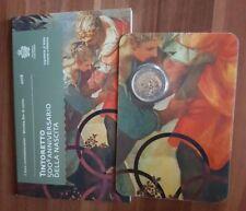 2 euro 2018 San Marino 500th Anniversary Tintoretto folder official BU
