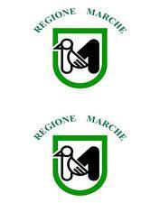 2 x Autocollant sticker voiture pc vinyl macbook drapeau italie italien marches