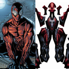 Spider-Man Symbiote Toxin Realistic Costume Pattern