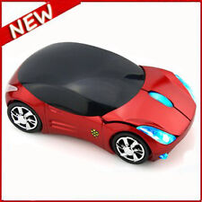 UK STOCK Wireless 2.4GHz 1600DPI 3D Car Model Shape Usb Optical Gaming Mouse