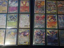 Lot 100 cartes Pokemon Françaises Avec Brillantes et rares sans double avec GX