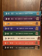 South Park Dvd Lot of 8 Complete Seasons 3, 4, 5, 6, 7, 8, 9, & 10