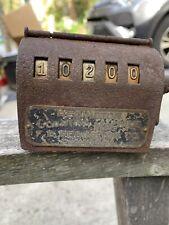 Vintage Antique F. B. Redington Counting Machine Oct 13, 1908 Works