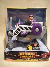 Rescue Hero Action Max Team Al Pine & Snow Walker Factory Sealed!