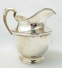 Gorham Sterling Pitcher 4 1/2 Pint Number 024 Puritan No Mono