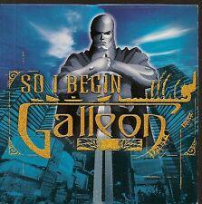 CD SINGLE 2 TITRES--GALLEON--SO I BEGIN / EXTENDED VERSION--2001