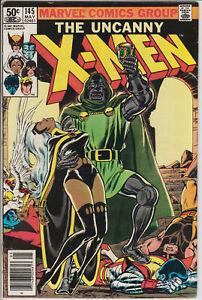 Uncanny X-Men 145 VG Doctor Doom Crossx