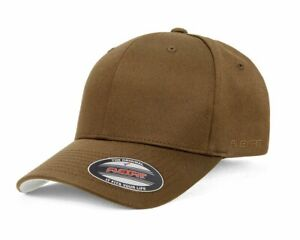 Flexfit 6277 Caps Hats. Perma Curve Wooly Combed.