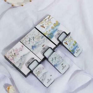 Unisex Portable Card Shape Long-lasting Perfume Balm Body Fragrance