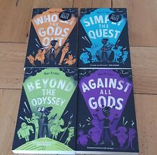 Elliot Hooper novels by Maz Evans. four books. Used but in very good condition.