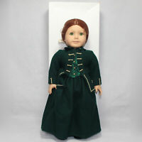 American Girl Pleasant Company Brown Body Felicity Doll, Needs TLC