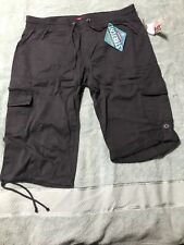 Juniors Unionbay Cargo Capri/crop- Grey- NWT- Size Large