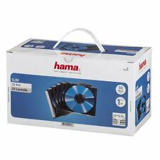 Hama CD Slim Cases, 50 pieces