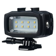 Underwater Waterproof Dual battery Diving Light Mount for Gopro Hero 7 6 5 4 3