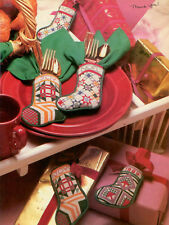 Patchwork Dainties XS Magazine Pattern - Denise Pratt - Mini Christmas Stockings