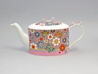 9952242 Porzellan Tee-Kanne Schmetterling Jameson&Tailor 1,2l H14cm