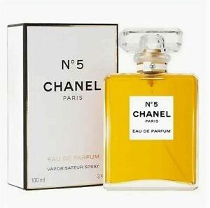 Chanel No 5 #5 Eau De Parfum perfume Spray 100 ml / 3.4 oz Women NEW SEALED BOX