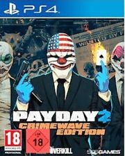PS4 GAME PAYDAY 2 - Crimewave Edition NEW MERCHANDISE