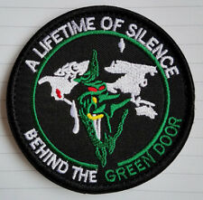US Air Force Groom Black Ops A Life Time of Silence Behind the Green Door Patch