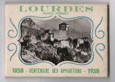 DÉPLIANT TOURISTIQUE TOURISME SOUVENIR GUIDE Lourdes Ed. Lux Pierre Doucet