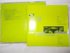 ONE WORLD ELECTRONICA - US 12 TRK V/A CD - FLUKE-FSOL-WAY OUT WEST-CARDINAL