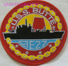 PUS490 - US NAVY USS BUTTE AE-27 PATCH