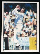 1984 Scanlens Cricket Sticker unused number 2 Dennis Lillee