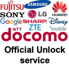 FAST 1-24hr UNLOCK CODE Japan NTT DoCoMo Samsung, Huawei, LG, ZTE, Fujitsu, Sony