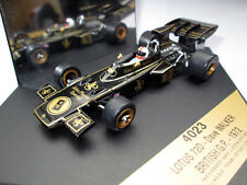Dave Walker F1 Lotus 72D Car Model Die Cast British GP 1972 1:43 Quartzo Rare