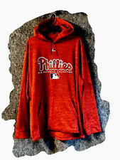 Men's Philadelphia Phillies Majestic Hoodie Sweatshirt* Sz XL