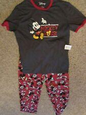 New listing New/tags Disney Mickey Mouse fleece lounge/pajama pants & T-shirt size Xl $56
