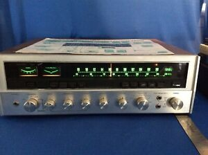 Vintage Sansui Eight Stereo Receiver With Original Box