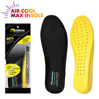 Safetoe Safety Shoes Insoles Flexibility Air-cool Soft Max Insoles Pads Memory