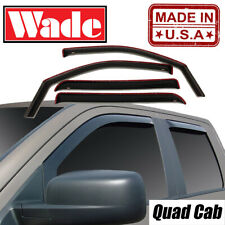 2019 Dodge Ram 1500 Quad Cab Wind deflectors In-Channel