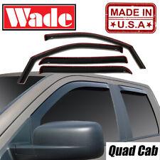 2019-2020 Dodge Ram 1500 Quad Cab Wind deflectors In-Channel
